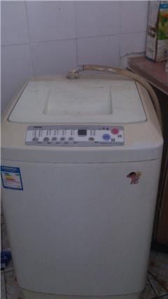 自用9新海尔小神童全自动洗衣机和多功能食品料理机