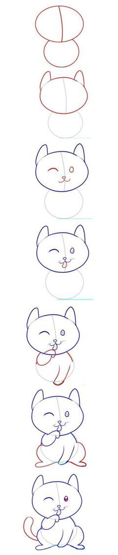 儿童简笔画教程_动漫涂鸦
