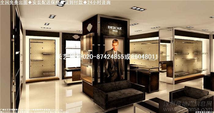 服装店装修效果图 小服装店装修 服装店装修图片 小型服装