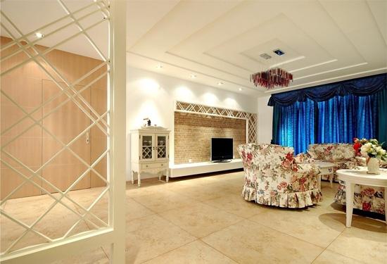 多种风格客厅天花板吊顶效果图