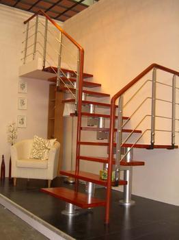 合肥钢木楼梯安装详解
