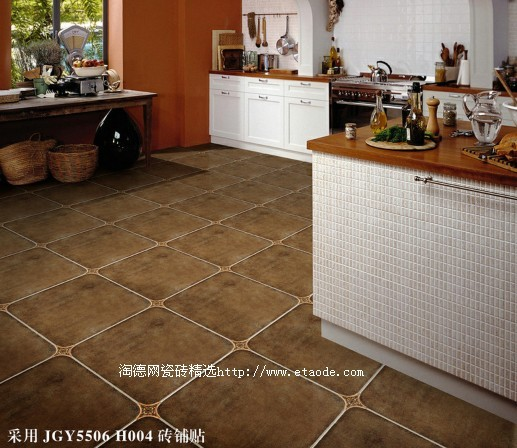 欧式厨房瓷砖贴图