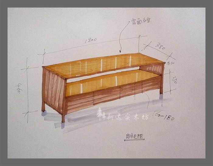 装修论坛 装修采购  > 家具手绘图片   ◆ ◆ 斯达实木坊 - 关注 - 粉