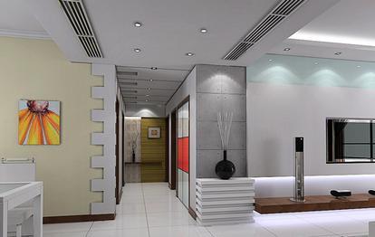 2012走廊吊顶效果图-中式吊顶