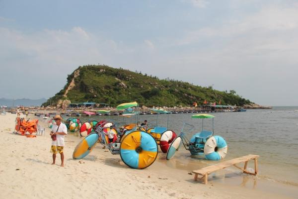中秋国庆相约熊猫沙滩露营烧烤,骑马,穿越虎洲岛,骑绿道单车