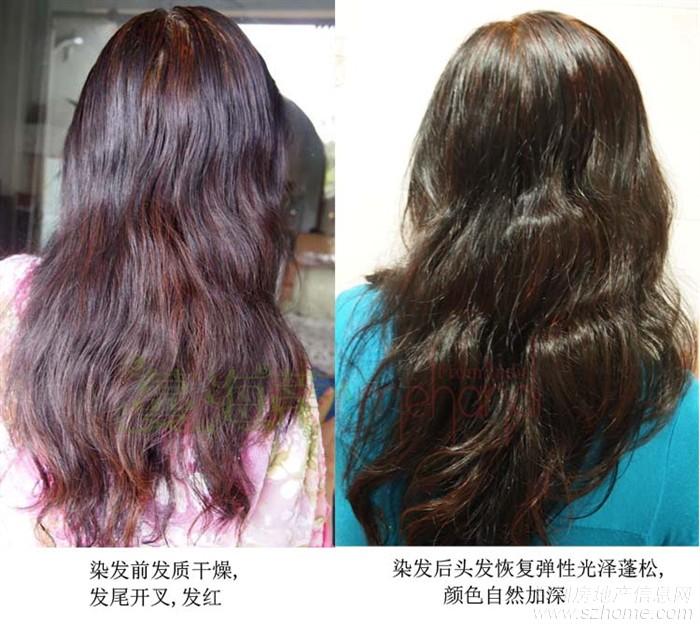 海娜粉染发有危害v图片