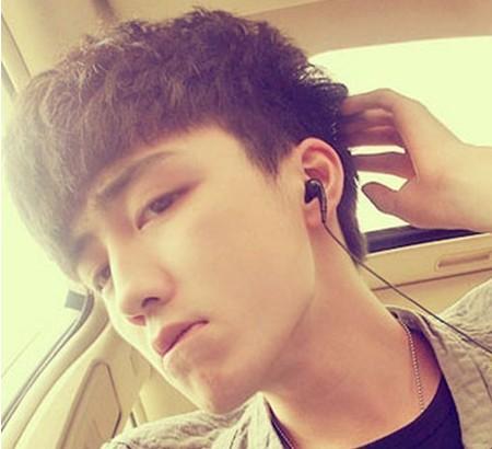 可爱帅气韩国男生短发