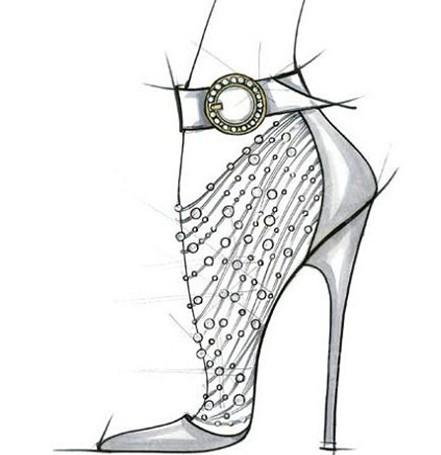 2014秋冬鞋子设计手稿趋势分析