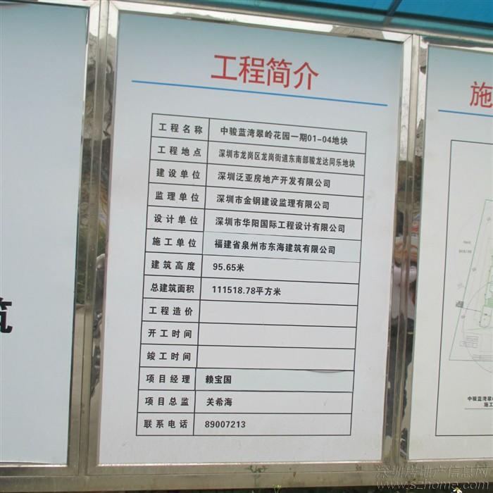 阳光工程标�_首发~中骏四季阳光工程牌 项目进度