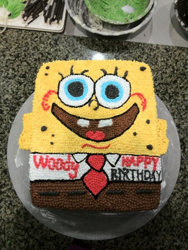 亲手制作可爱的卡通蛋糕