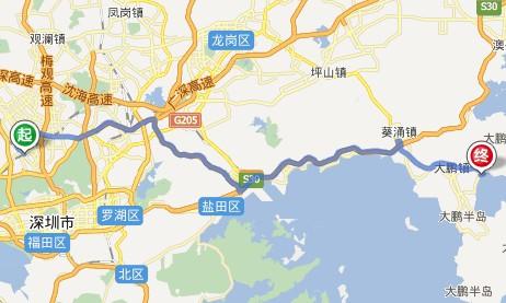 深圳高铁站到大鹏较场尾旅游租车包车接送