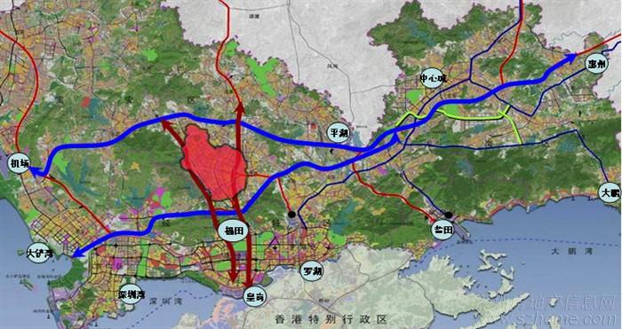 """《深圳市城市总体规划(2010-2020)》已经把龙华新区的定位从""""特区后"""