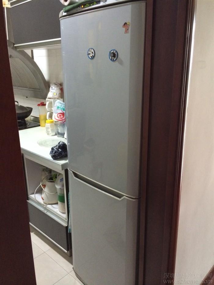 转海尔205升双开门大冰箱一台!