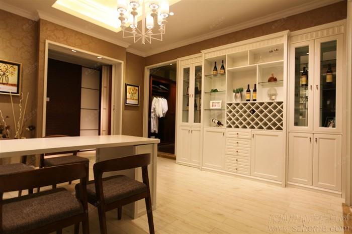 索菲亚定制酒柜 - 家在深圳