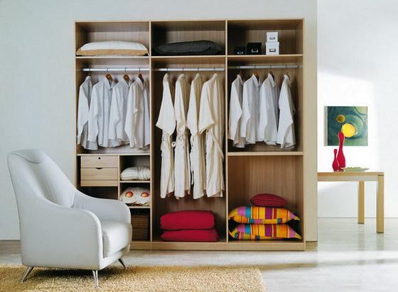 卧室的结构很大程度上决定了整体衣柜的宽度尺寸和柜子内部空