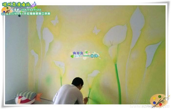 5月最新墙绘壁画手绘墙画作品
