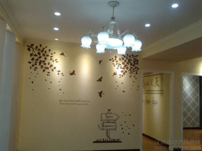 大面积墙面可选用兰舍硅藻泥如松