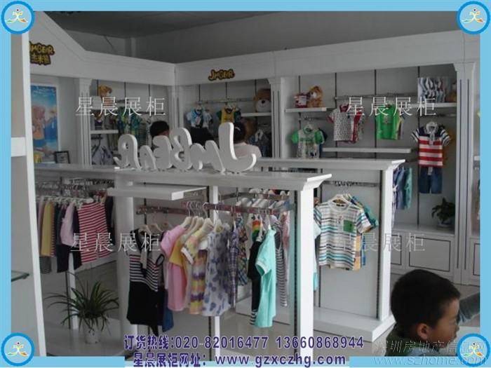 童装店展柜设计装修效果图