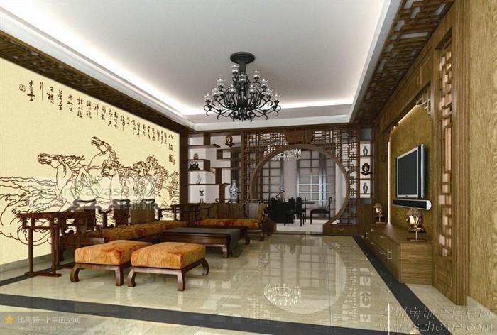 深圳龙岗净卫士硅藻泥中式风格
