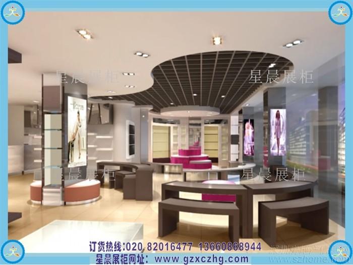 鞋柜厂家装修设计鞋店展柜 - 家在深圳 - 房网论坛(房