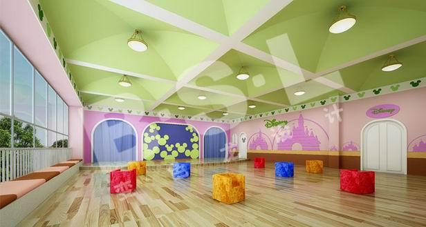 幼儿园室内设计装修的注意事项
