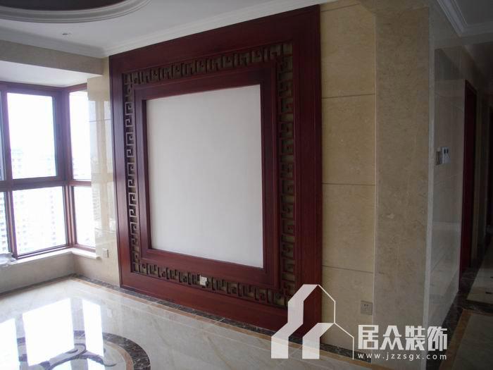 > 南宁凤景湾6栋165㎡四房两厅中式风格装修案例