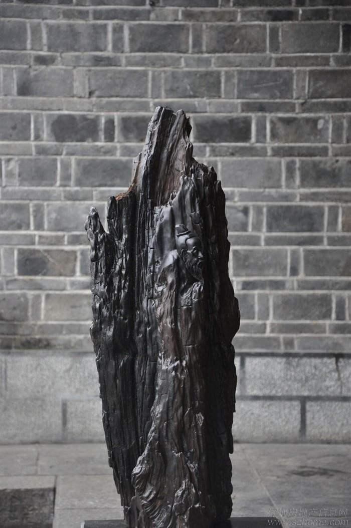 乌木雕刻 老子