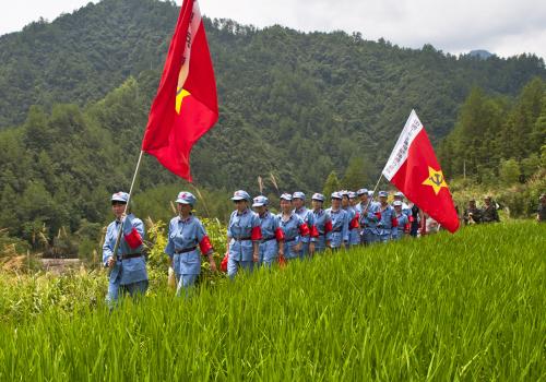 【亲子夏令营】去井冈山体验万里长征红军生活
