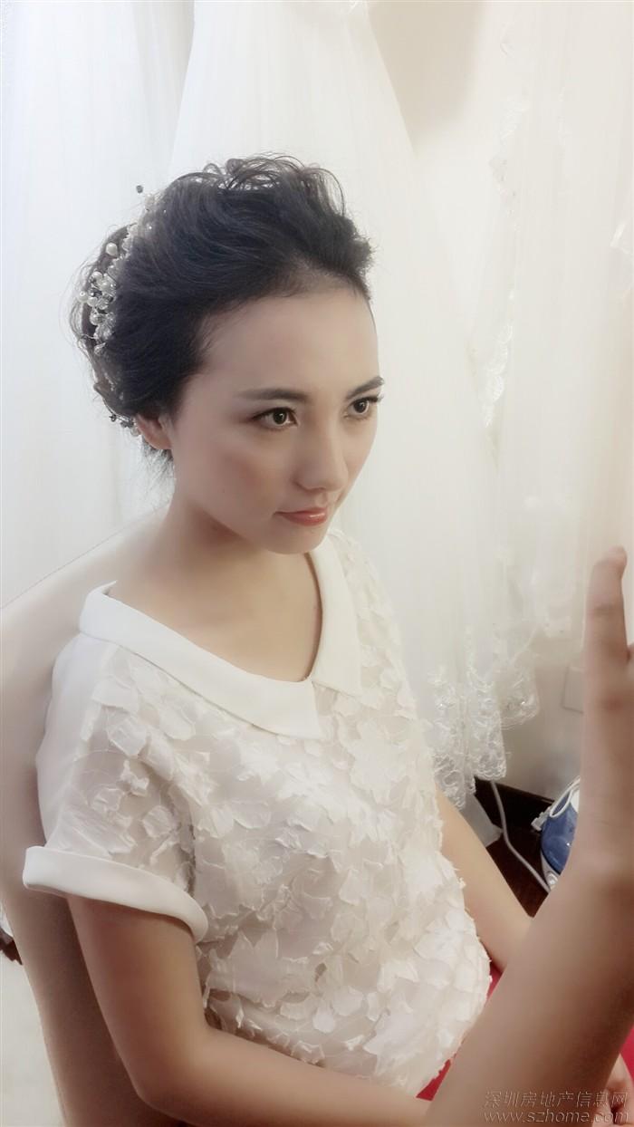[蜜拉婚纱] 甜美新娘造型