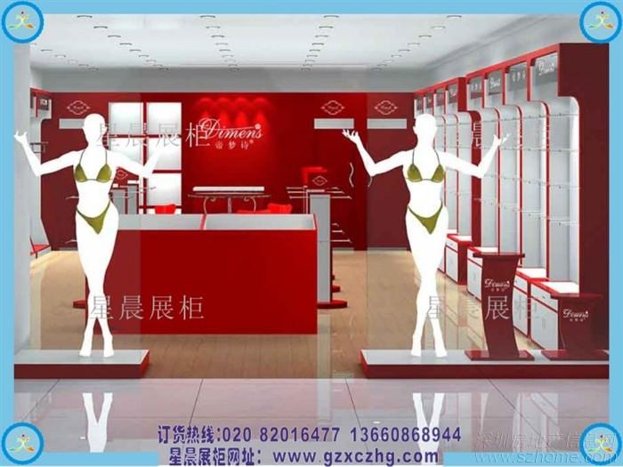 家在深圳  装修论坛 装修采购  > 内衣店装修|内衣展柜设计效果图