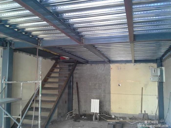 做钢结构二层 搭建阁楼隔层