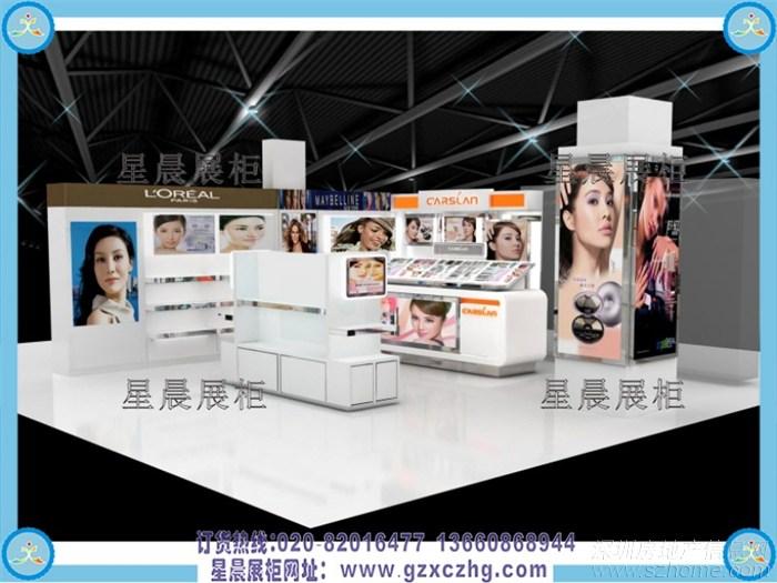 化妆品柜台_化妆品店装修图片