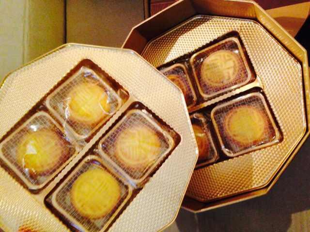 半岛酒店 奶黄月饼