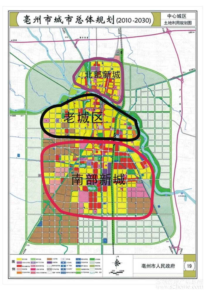 安徽省亳州市谯城区国有建设 用地出让 ;项目总面积471.