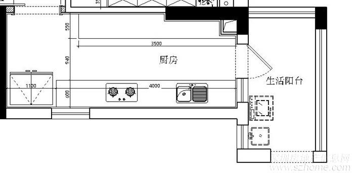 求助:对开门冰箱 预留尺寸多少为好