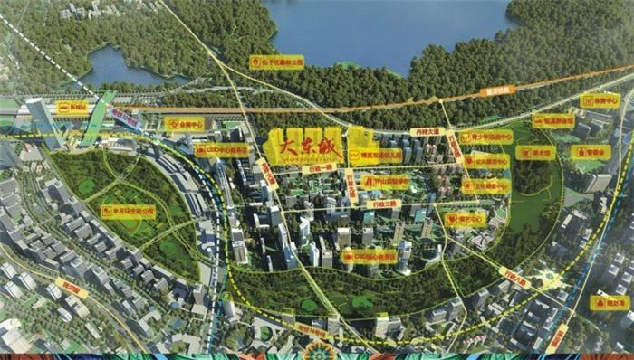 0低密度的生态豪宅,背靠松子坑森林公园,俯瞰整个坪山新城,位于未来