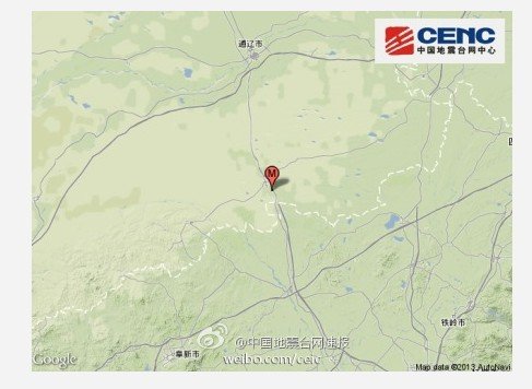 彰武靠近内蒙古地图