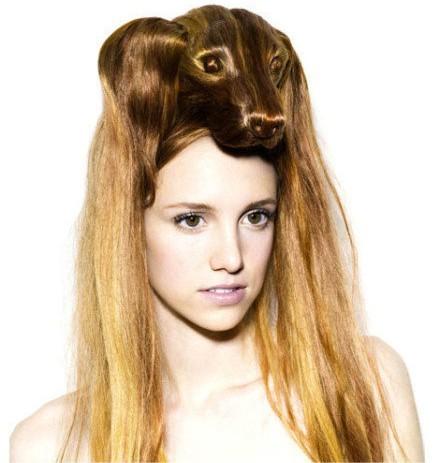 史上最奇葩的发型!动物造型