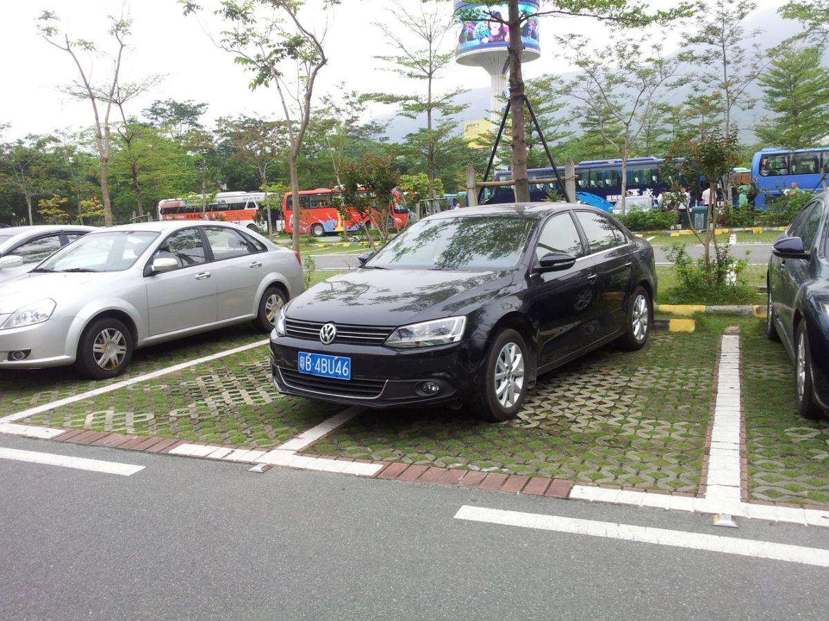 东部华侨城停车场