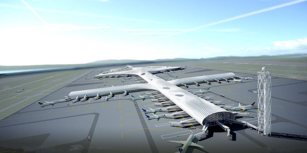 规划建筑面积约130万平米,如今也在加快建设中,航城学校现已立项,未来