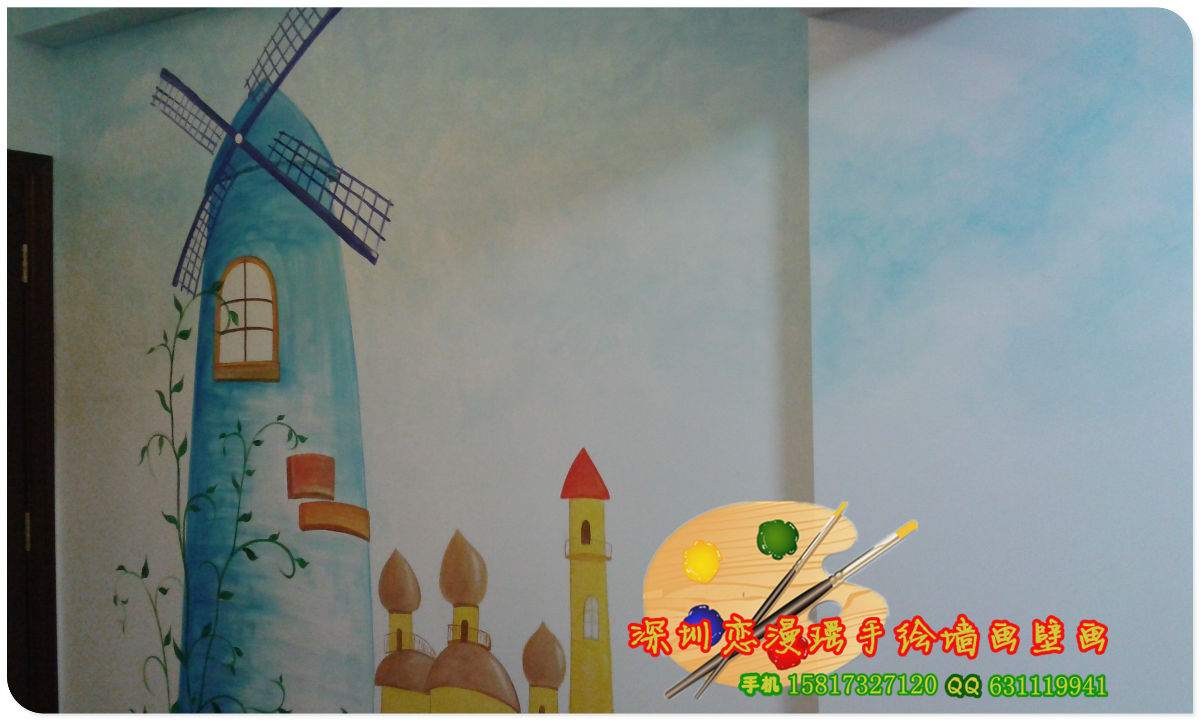手绘墙画壁画 - 深圳房地产信息网论坛