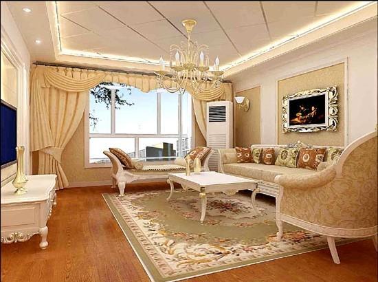 奢华的欧式家居装修效果图