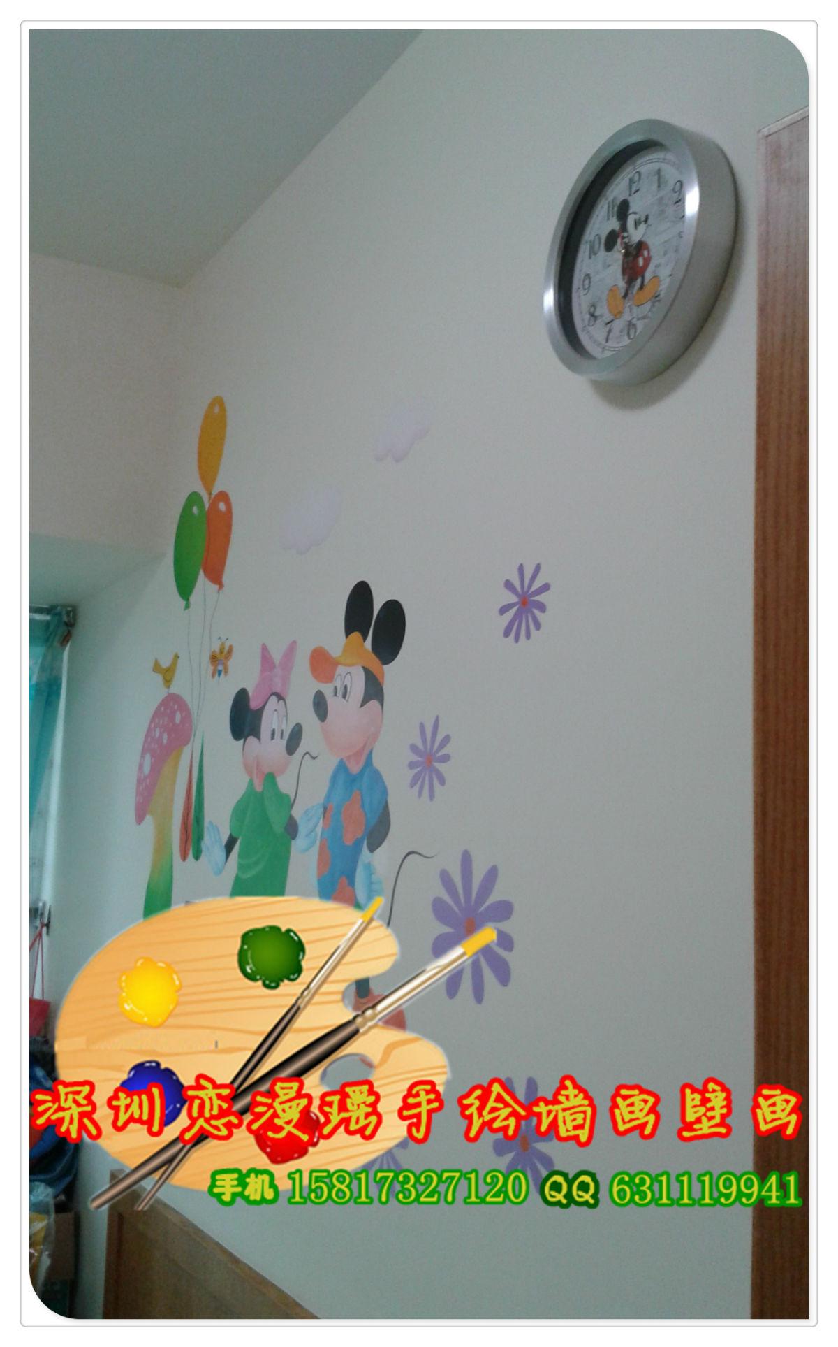手绘墙绘墙画 大家来瞧瞧