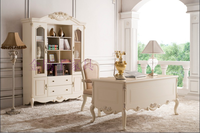 欧式白色实木家具厂家直销