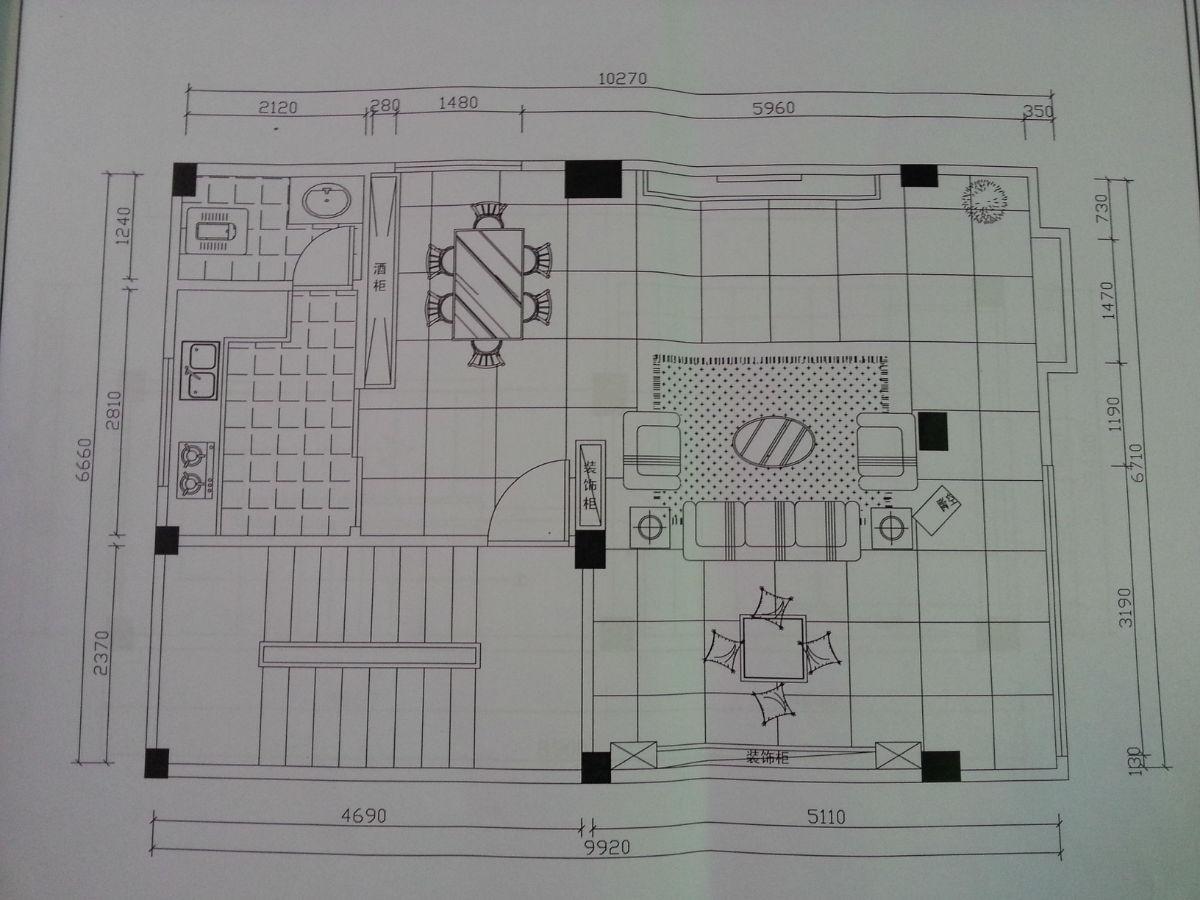 这个平面图如何设计更合理?