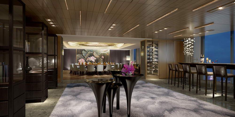 深圳四季酒店室内设计竣工项目