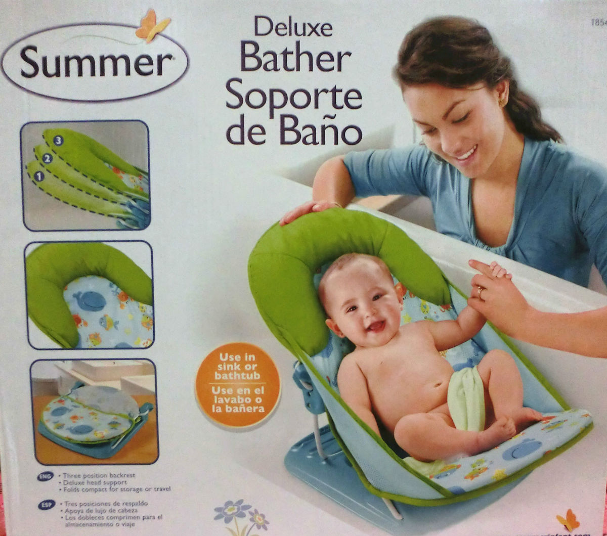 Summer Infant 婴儿洗澡座椅 躺椅 沐浴架图片