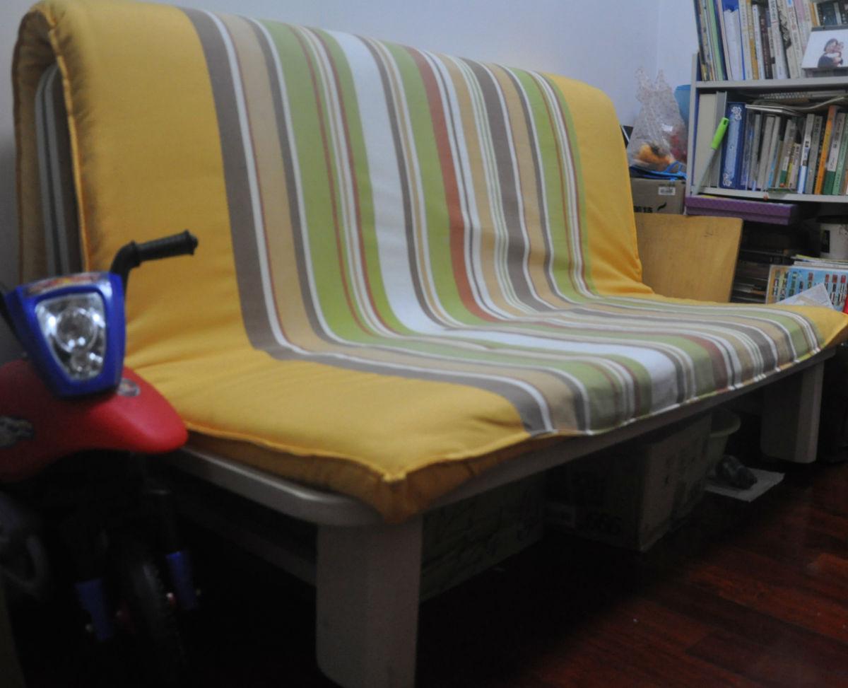 5白色纯实木田园床+雅兰床垫
