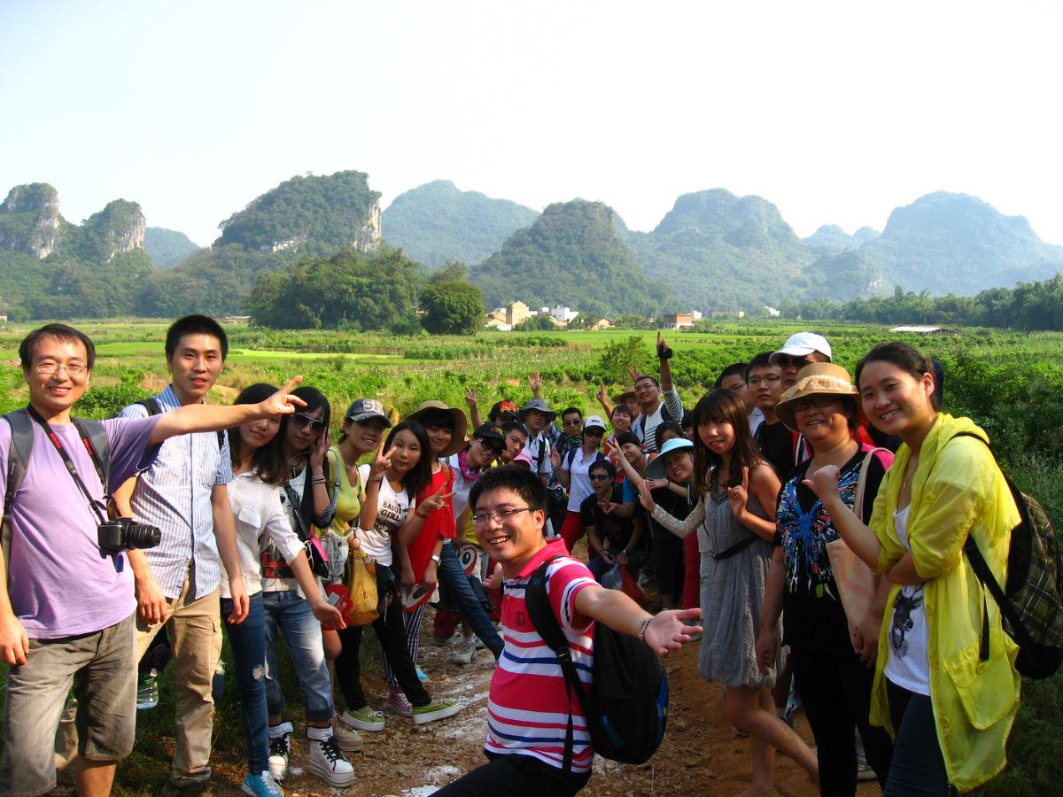 每周六日英西峰林,走進廣東小桂林