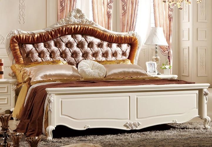 卧室实木床如何搭配